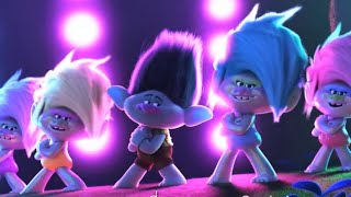 Trolls world tour branch dancing with the K-pop
