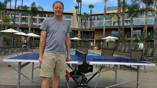 Kettler Cologne Outdoor Ping Pong Table Review