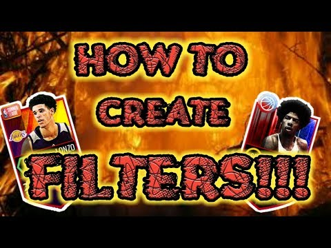 HOW TO CREATE YOUR OWN NBA LIVE MOBILE SNIPING FILTERS!!!