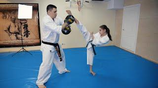 4 комбинации ударов для эффективного поединка  Тренировки со Старчиковым Родионом   SENSHI  Выпуск#4