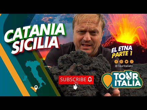 TOUR ITALIA #Sicilia #Catania 2018 #Volcán #Etna