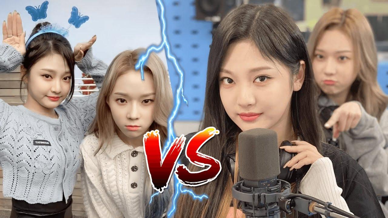 æspa 에스파 maknaes: Winter (윈터) vs Ningning (닝닝) Tom & Jerry Moments