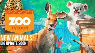ZOO TYCOON: ULTIMATE ANIMAL COLLECTION! Trailer, New Animal Species, Huge Update