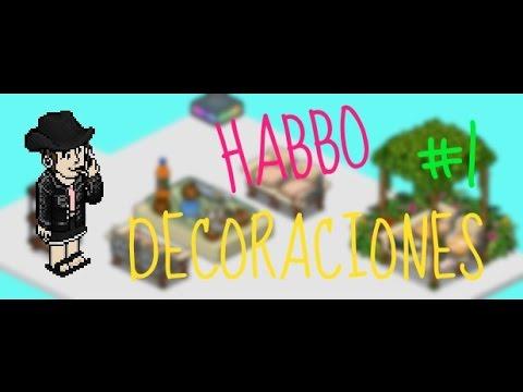 Habbo tutorial decoraciones para tu sala 1 youtube for Habbo decoraciones