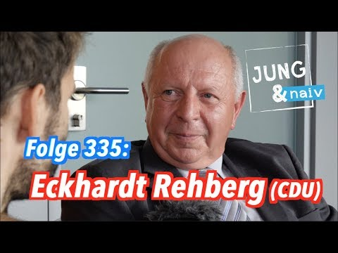 "Eckhardt Rehberg (CDU), der ""Teppichhändler"" im Bundestag - Jung & Naiv: Folge 335"