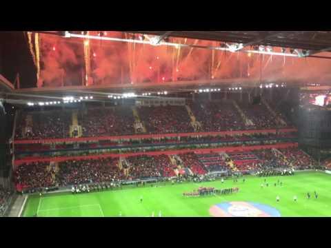 Открытие стадиона ЦСКА и первый матч за 1 минуту   Arena CSKA opening ceremony in 1 minute