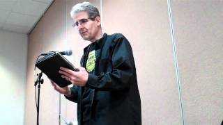 Scott Edelman reads at Worldcon 2011