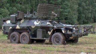 Nuevo vehículo ruso desactiva minas con microondas