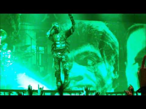 Rob Zombie in Concert Oklahoma City Chesapeake Energy Arena (2013)