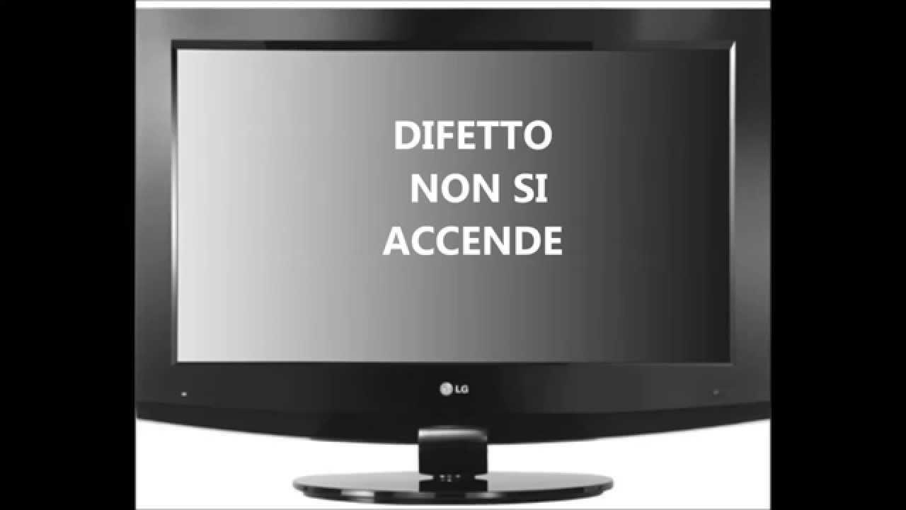 Schemi Elettrici Tv Lcd : Riparazione tv lcd lg modello lb non si accende youtube