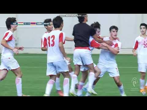 Кубок Президента Казахстана. Армения U17 - Таджикистан U17. Все голы