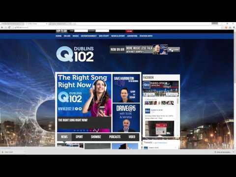 How to find hidden radio stream URL from online radios Method 1