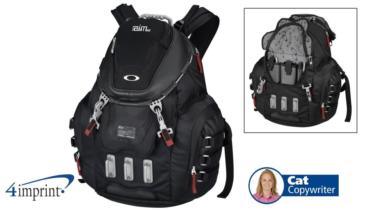 Kitchen Sink Backpack   Oakley Kitchen Sink Backpack Promotional Products By 4imprint