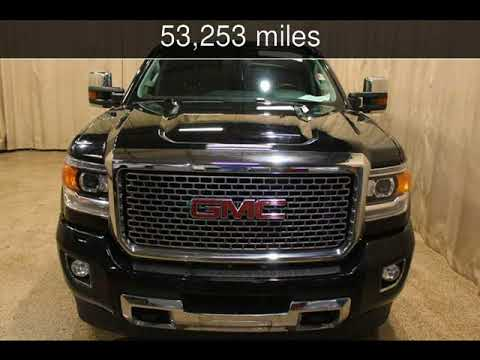 2015 GMC Sierra 2500HD available WiFi Denali Used Cars - Roscoe,Illinois - 2018-01-19