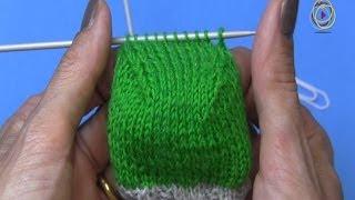Repeat youtube video Projekt: Sockenstricken hier das Fersenkäppchen 4. Teil