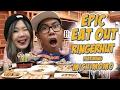 Epic Eat Out #19: Mukbang Challenge with Michelle Hendra (Michi Momo) at Ringer Hut | PUTRA SIGAR