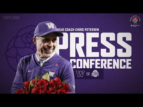 Football: Coach Petersen Rose Bowl Press Conference