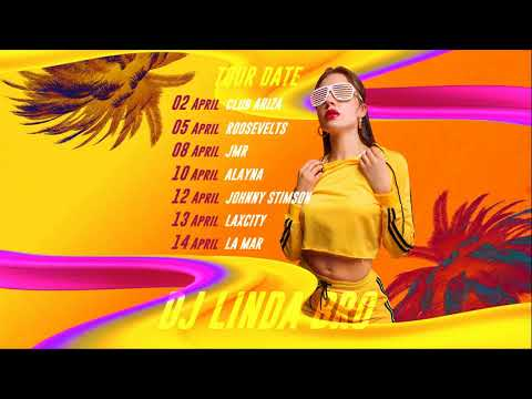 DJ Tour Date After Effects Template