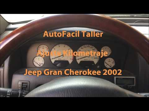 Bajar kilómetros Jeep Gran Cherokee 2002