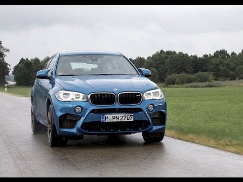 Review Bmw X6 M 575 Hp V8 Long Beach Blue Full Test Youtube
