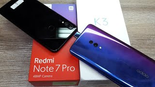 Oppo K3 vs Redmi Note 7 Pro - Which Should You Buy ?