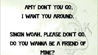 Amy-Green Day lyrics