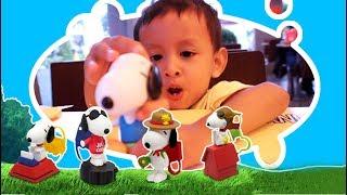 Happy Meal Terbaru Mcd Snoopy Peanuts Versi Bermain | Mainan Mcdonald Terbaru
