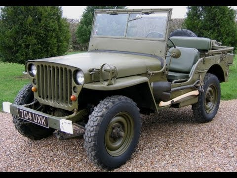 the willys jeep youtube