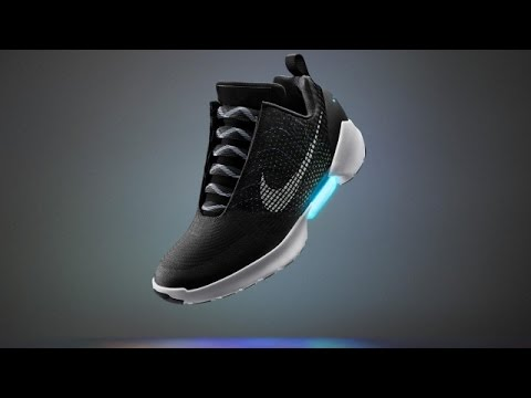 Nike's Self-Lacing Shoe Is Real, And