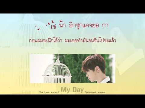 [Karaoke/Thaisub] Youngjae (GOT7) - My Day (내 하루) #TNTSUB