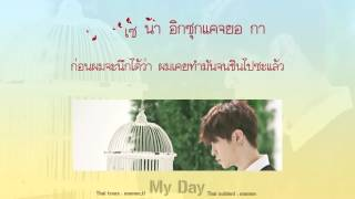 [Karaoke/Thaisub] Youngjae (GOT7) - My Day (내 하루)