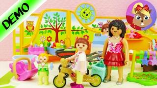 摩比游戏 儿童积木玩具 超级可爱婴儿游乐场游乐园 DIY 组装展示