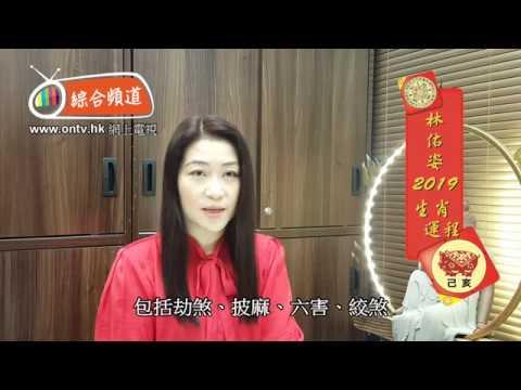 林佑姿師傅 2019年十二生肖運程 (肖猴)