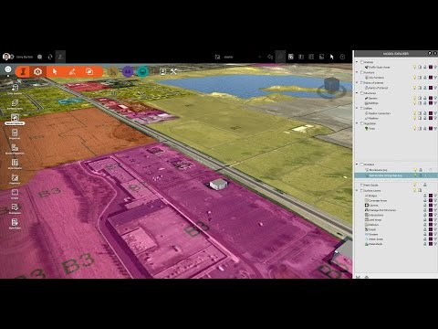 InfraWorks 360 - Terrain Overlay