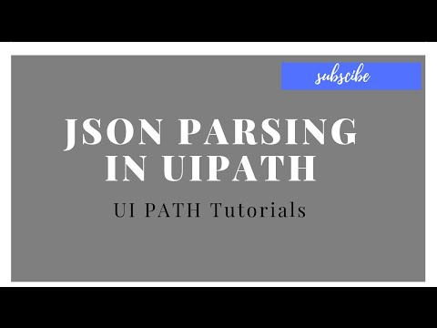 JSON Parsing UI Path - PHP Video Academy