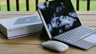 Surface Go Unboxing and First Look