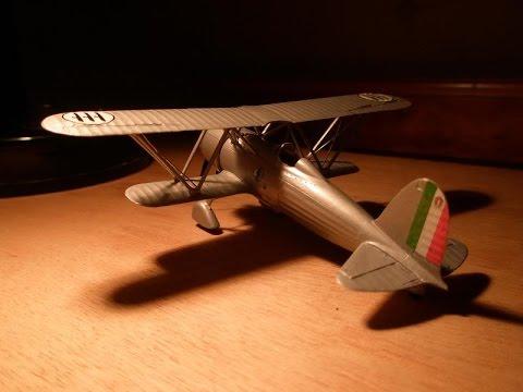 Revell 1/72 Fiat Cr42 Falco prototype