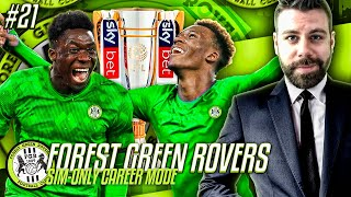 WOW WE CAN WIN THE PREMIER LEAGUE AND THE EUROPA LEAGUE!!  - Forest Green SIMULATION CAREER MODE #21