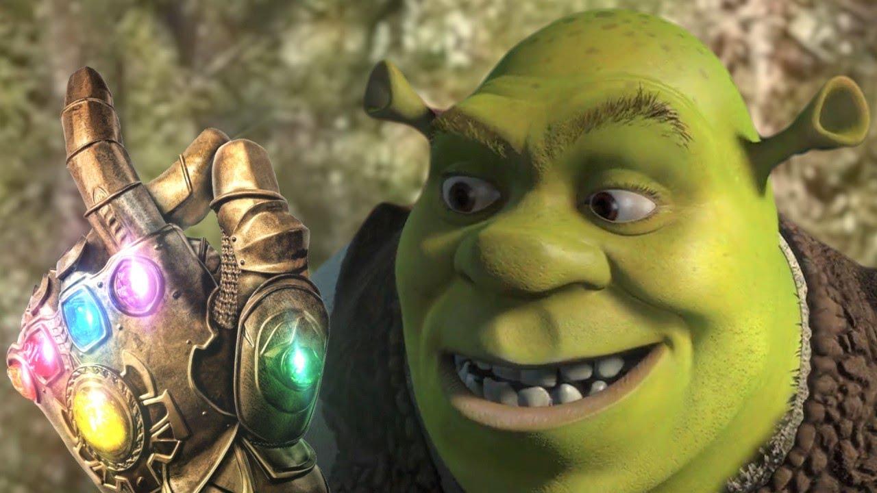Shrek Snaps his Fingers
