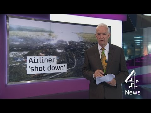 Malaysia Airlines flight MH17 shot down in Ukraine | Channel 4 News
