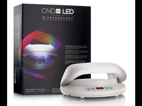 CND LED LAMP Outlet Nail Supply - YouTube