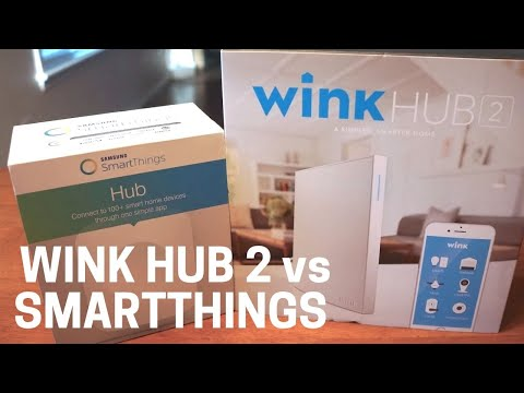 Wink vs SmartThings Showdown