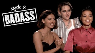Elizabeth Banks' Ask A Badass | Charlie's Angels | WHOHAHA