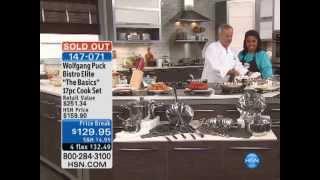 Wolfgang Puck Bistro Elite The Basics 17-piece Cookware Set