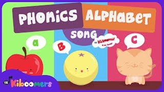 The ABC Song for Children | Phonics | Alphabet Song | The Kiboomers