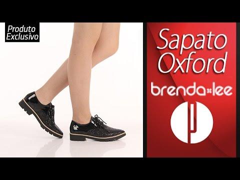 6f915e1575 Sapato Oxford Feminino Brenda Lee - 6060307212 - YouTube