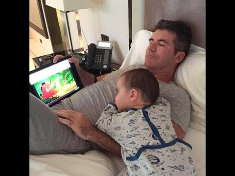 Simon Cowell And His Son Eric