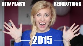 NEW YEARS RESOLUTIONS | 2015 Thumbnail