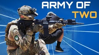 Can Two Experienced Airsoft Players WIN AGAINST EVERYONE?!