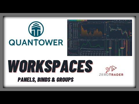 QUANTOWER / Workspaces, aprende a manejar los espacios de trabajo